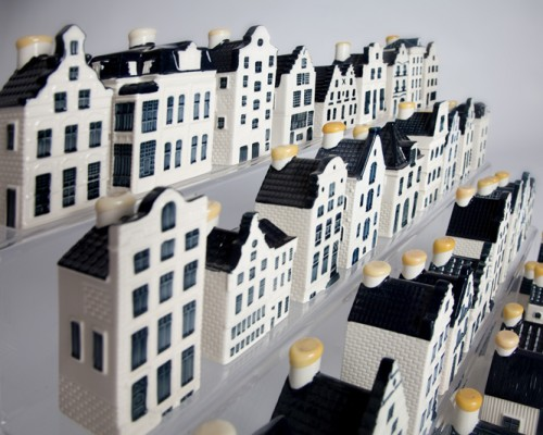 KLM huisjes etagére - Diagonaal